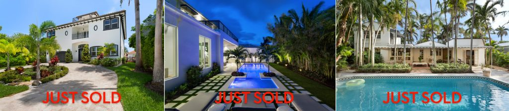 Three Sold Luxury Homes By Delray Beach Lxuruy Real Estate Brokers Pascal Liguori & Son